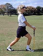 球技-便携式健身器训练(7) 拉伸腰肌及臀部屈肌