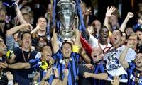 国米欧冠夺冠赛季三冠王