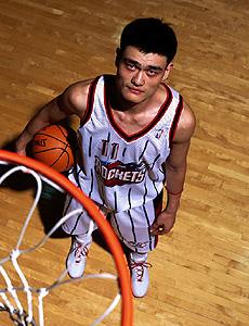 姚明NBA之路