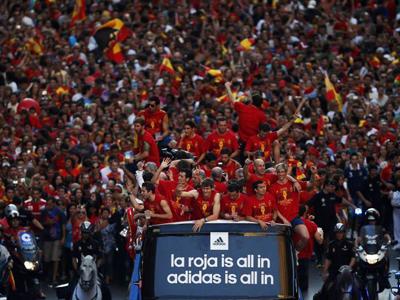 西班牙夺冠巡游
