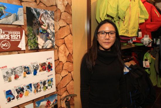 Millet亚太区销售经理Caroline Kong。