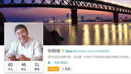 点击进入张桐坡的微博悼念