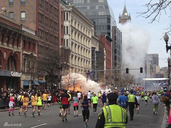 波士顿马拉松爆炸