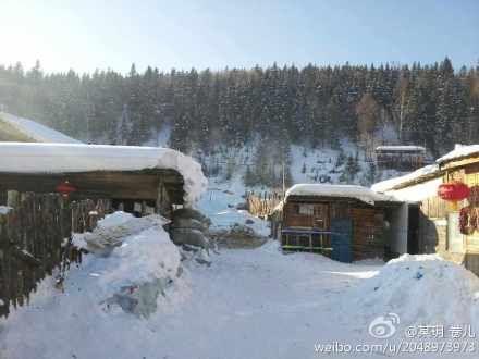 雪谷到雪乡。