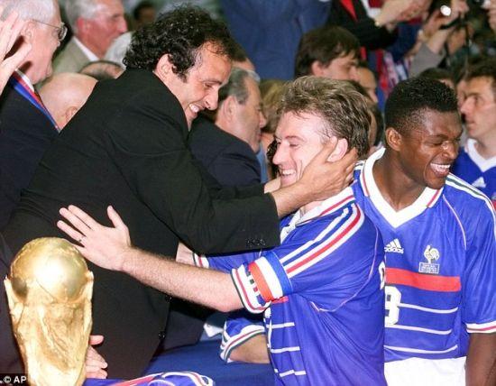 尚是1998年世界杯法国队夺冠的中流砥柱-世界杯百大球星 90 100 沙
