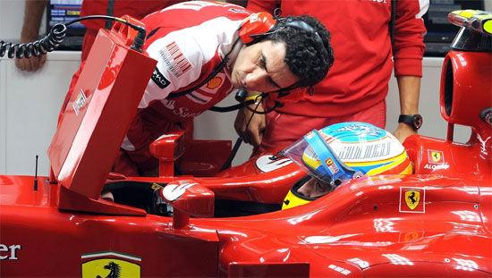 阿隆索和斯泰拉磨合了四年之后,赛车设置能够达到一个较为理想的水平。