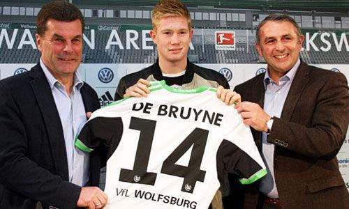 德布劳内是德甲联赛上半程的助攻王(10)