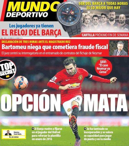 《世界体育报》头版