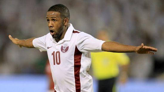 哈尔范是卡塔尔国家队的核心