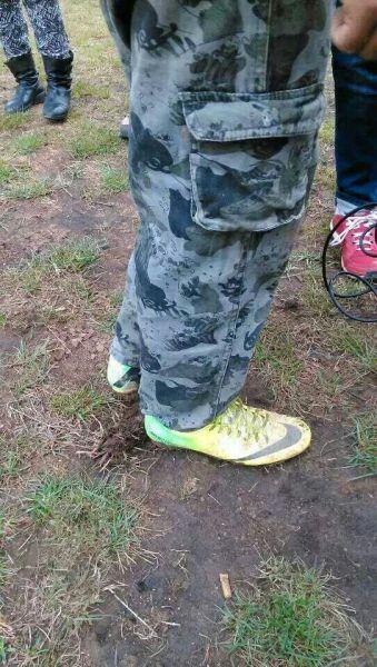 和松云珍贵的球鞋