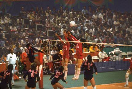 1984年洛杉矶奥运会夺冠(1)