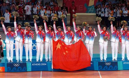 2004年雅典奥运会夺冠(3)