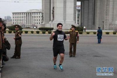 平壤国际马拉松完赛 全马冠军仅获3000元奖金