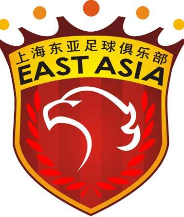 料图 上海东亚足球俱乐部队徽图片