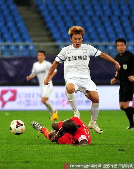 湘涛官方宣布前中泽球员柳超加盟