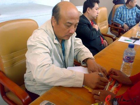 图文-[中甲]烟台毅腾2-2南京有有前国奥教练现身