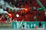 贵州球迷燃起烟火