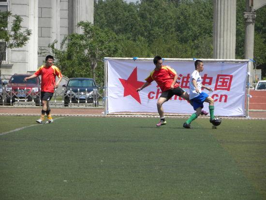 3 绿岛学校足球场:2002年世界杯前在沈阳苏家屯区修建的天然草足球