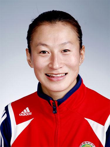 图文-中国女足奥运代表团 江帅