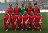 中国女足首发合影