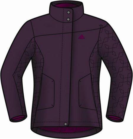 阿迪达斯 滑雪服 P91126深紫