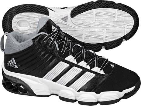 阿迪达斯 篮球鞋 G23205一号黑 / 银金属 / 亮白