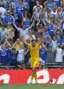 图文-足总杯切尔西2-1埃弗顿 兰帕德打入致胜球