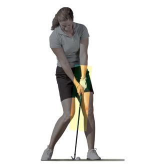 球技-铁杆击球专项训练注意击球延宕与动作顺序