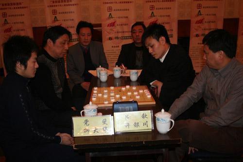 许银川象棋�:-f����,,_08年度象棋人物:世界象棋先生许银川 象棋小姐唐丹