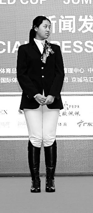 马术少年苏宇梵:我要做专业骑手每周6次专业训练