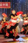 图文-16国宝贝助威奥运会欧洲杯法国风情舞蹈