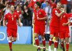 图文-[欧洲杯]捷克VS葡萄牙捷克队西昂科庆祝进球