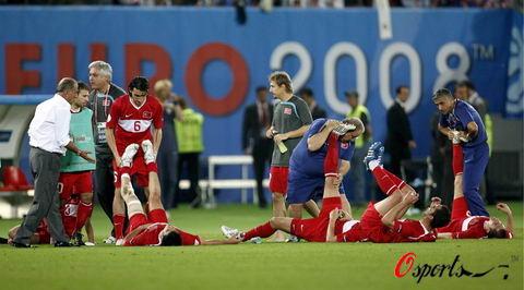 图文-[欧洲杯]克罗地亚VS土耳其都已经拼尽全力