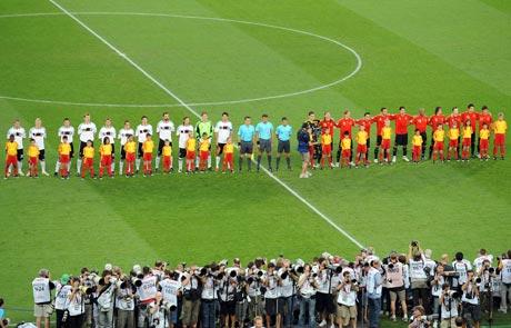 图文-[欧洲杯]德国VS西班牙冠军决战一触即发