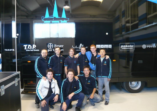 三大腾飞与GP2名队合作中国技师赴欧洲培训学习