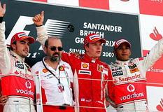 F1英国站莱科宁赢银石首胜