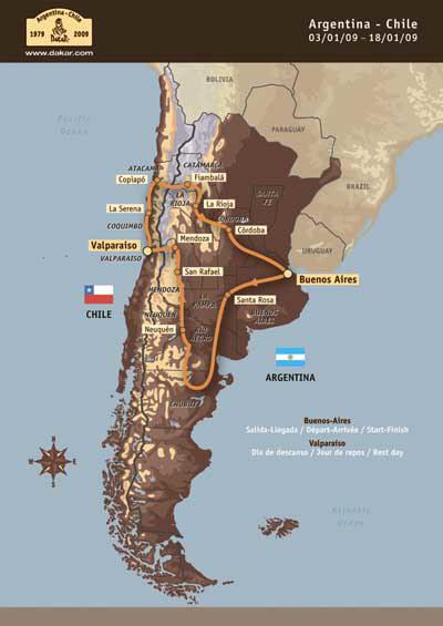 转战南美不更名09达喀尔拉力赛招募工作正式启动