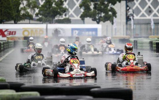 CKC上海站暴雨中激战