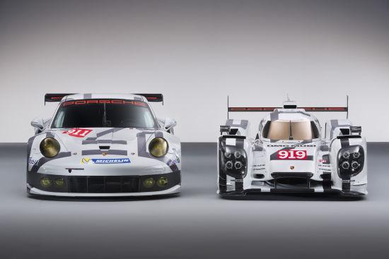 保时捷勒芒赛车911 RSR、919 Hybrid