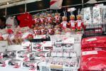 图文-F1日本大奖赛在即 丰田车队商品专柜