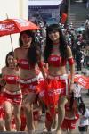 图文-AGF珠海站精彩图片美女模特登台