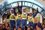 图文-WRC收官战英国站精彩图片福特车队包揽冠亚