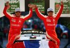 图文-WRC收官战英国站精彩图片勒布加冕世界冠军