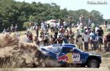图文-第31届达喀尔第一赛段塞恩斯汽车组名列第二快