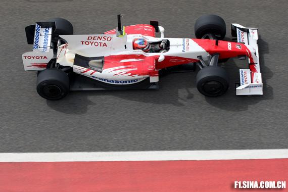 图文-F1巴林试车(2月18日)格洛克完成132圈测试