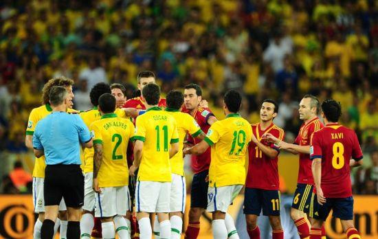 巴西和西班牙剑拔弩张