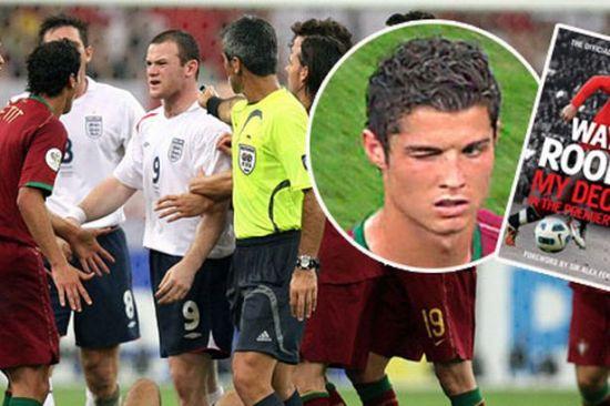 鲁尼和C罗在2006年世界杯时一度交恶