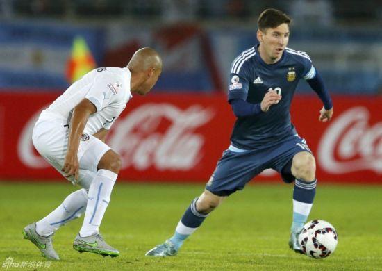梅西带领阿根廷收获胜利