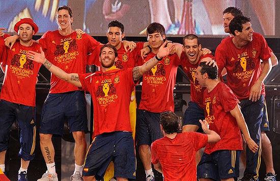 西班牙国家队这些球员之间一般很少叫名字,而是叫外号