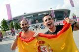 西班牙球迷期待冠军